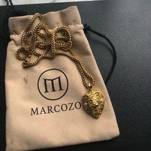 18k Marcozo Lion Chain
